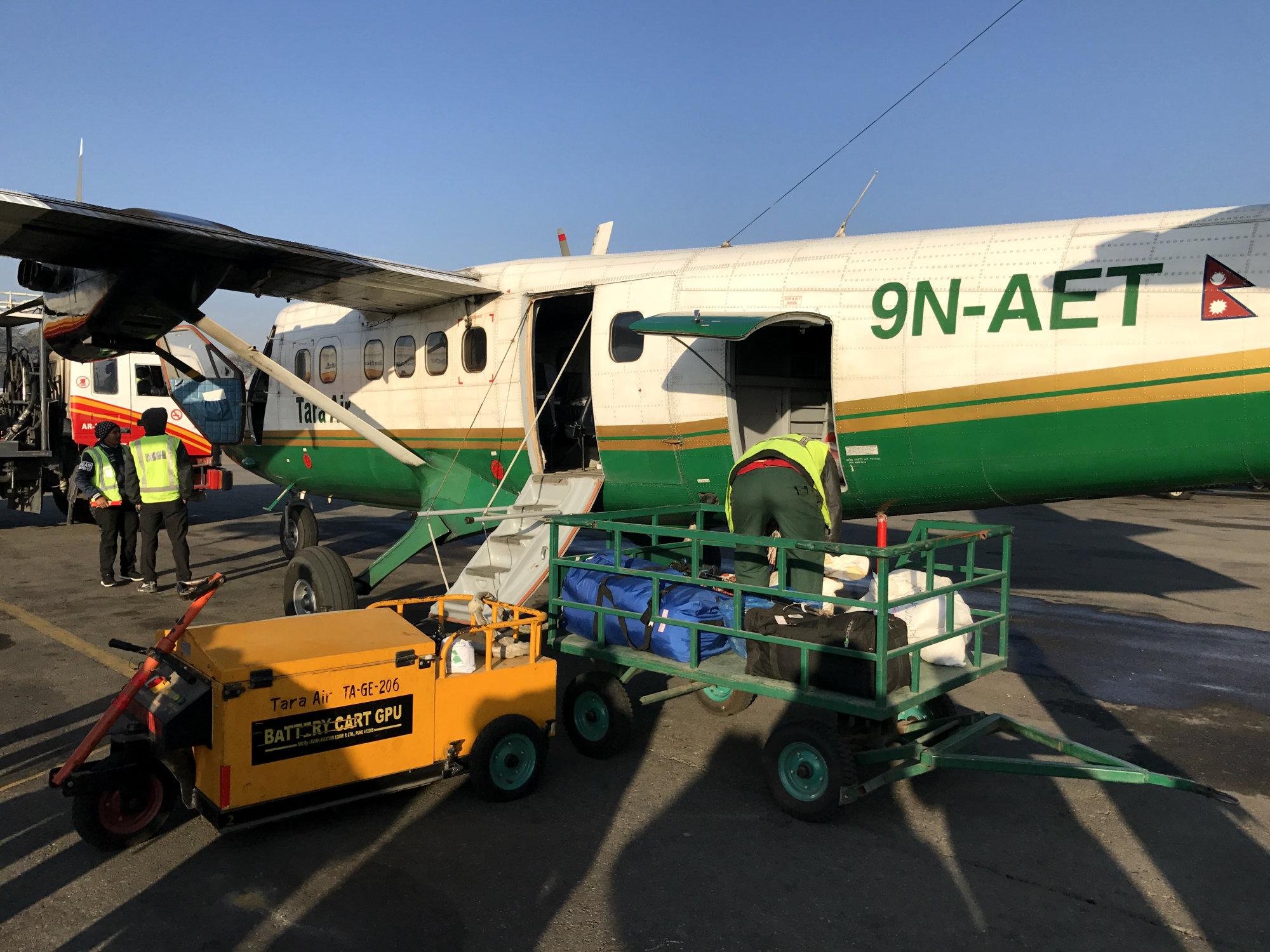 Plane Kathmandu
