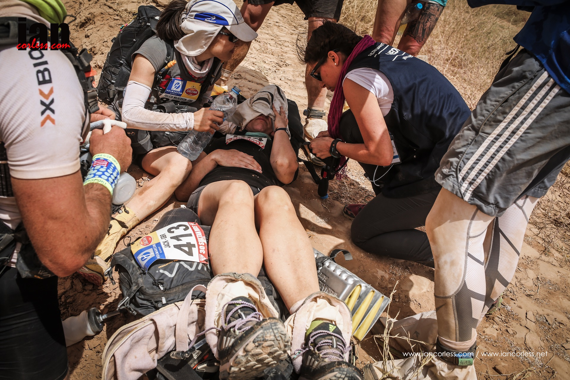 Marathon des Sables medical emergency