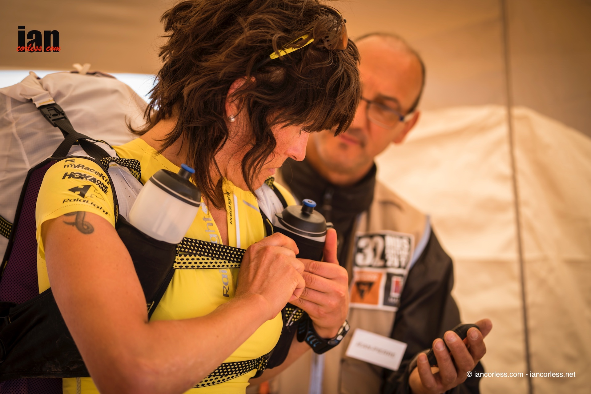 Elisabet Barnes UltraCoach Kit check Marathon des Sables