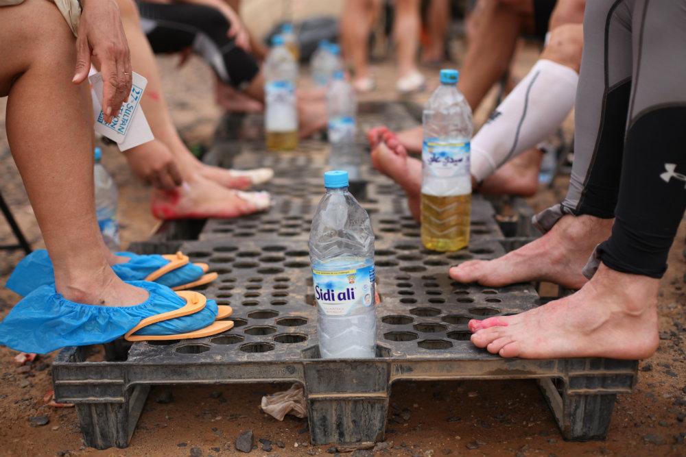 marathon des sables doc trotters foot care clinic
