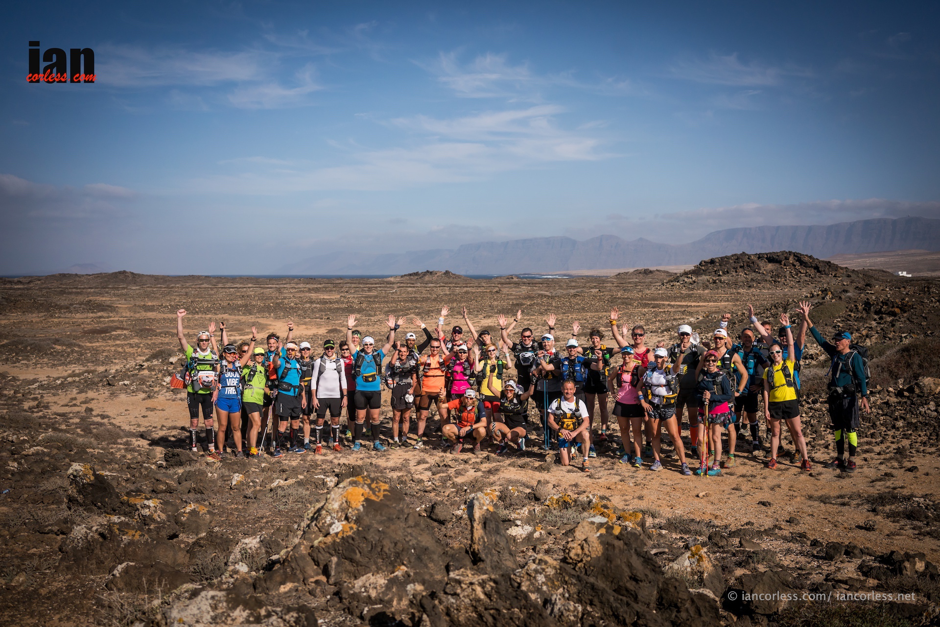 Marathon des Sables training Lanzarote Training Camp