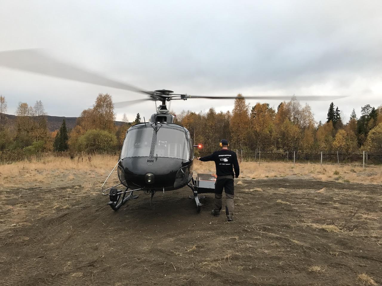 unsleden Ammarnäs Helicopter