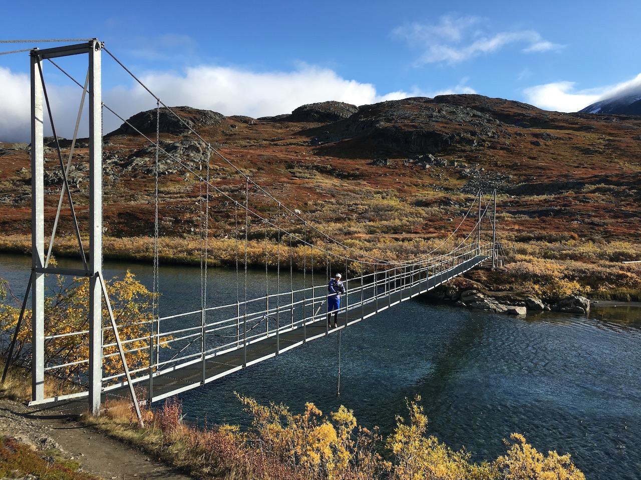 Kungsleden bridge