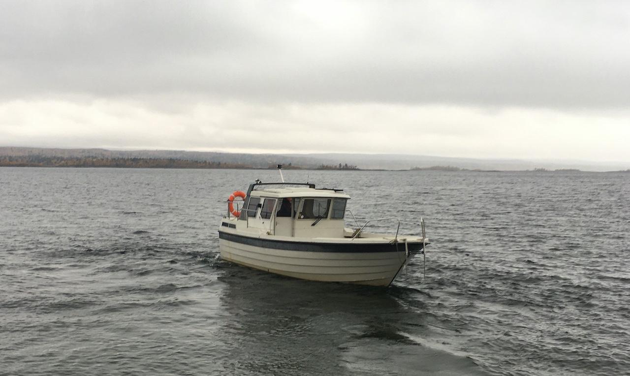 Kungsleden Boat Crossing