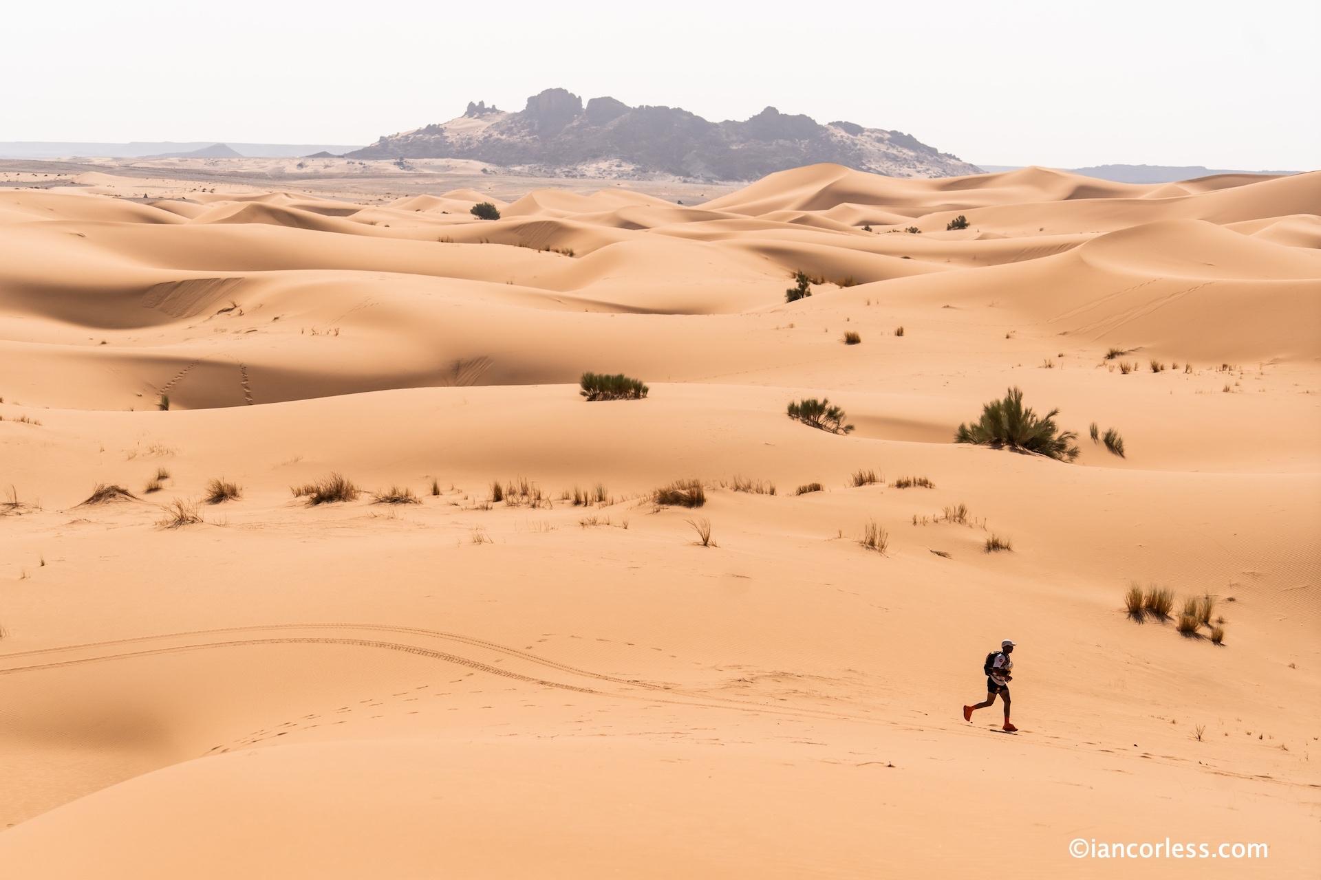 Dunes at marathon des sables